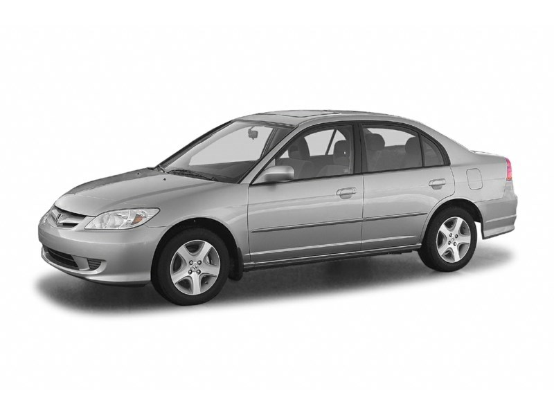 2005 Honda Civic SE Exterior Shot 1