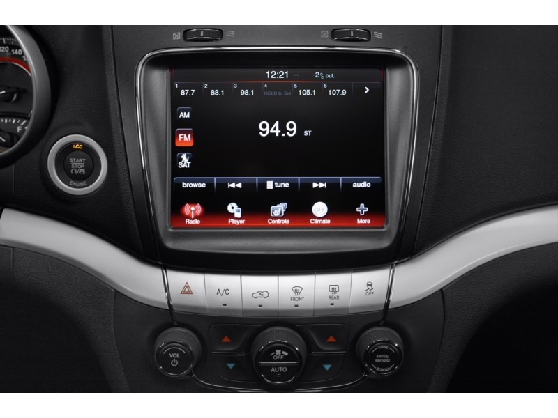 2011 Dodge Journey Canada Value Package Interior Shot 2