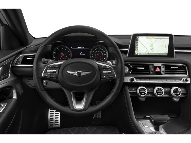 2021 Genesis G70 2.0T Elite Interior Shot 3