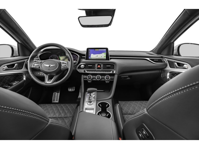 2021 Genesis G70 2.0T Elite Interior Shot 6