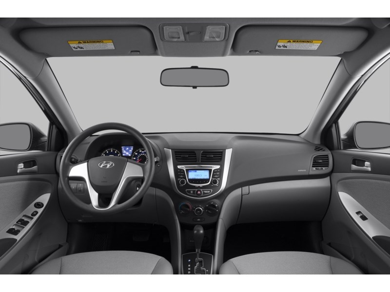 2013 Hyundai Accent GL Interior Shot 6