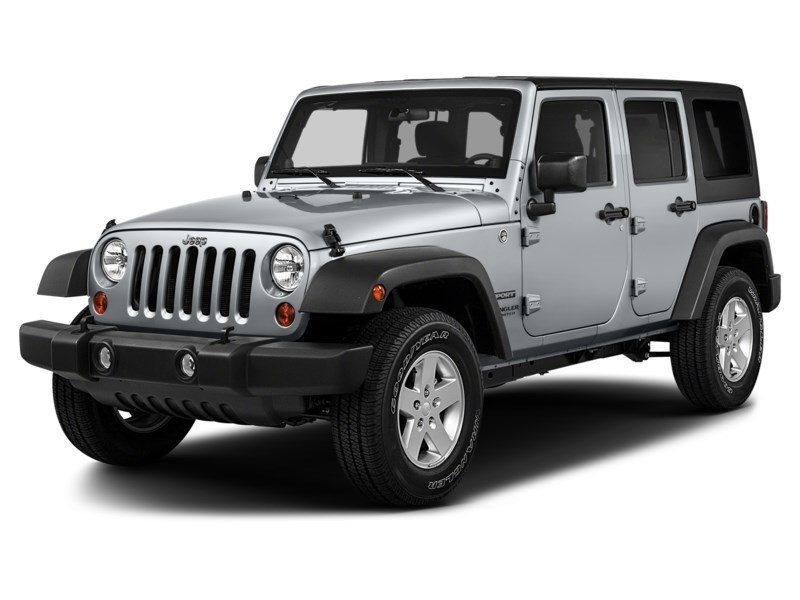 2015 Jeep Wrangler Unlimited Sport Exterior Shot 1
