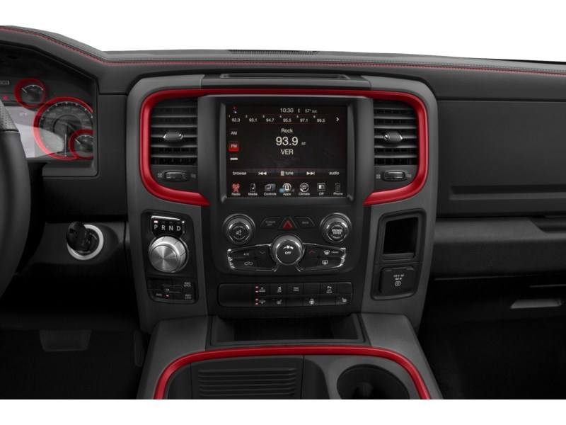 2018 RAM 1500 Rebel Interior Shot 2