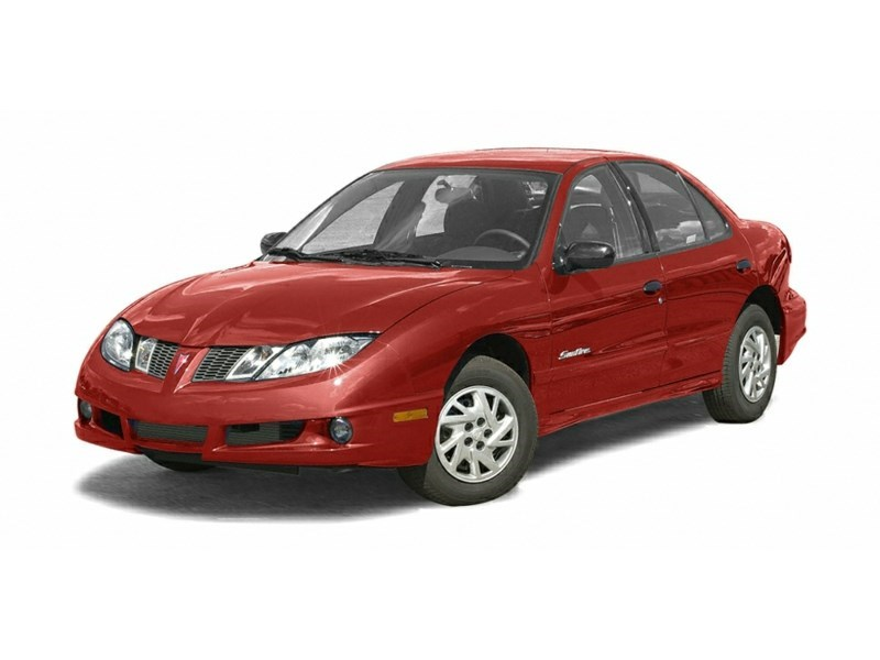 2003 Pontiac Sunfire SL Maple Red Metallic  Shot 1