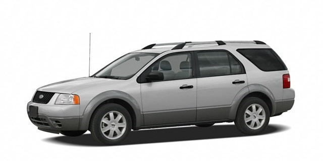 2005 Ford Freestyle Silver Frost Clearcoat Metallic [Silver]