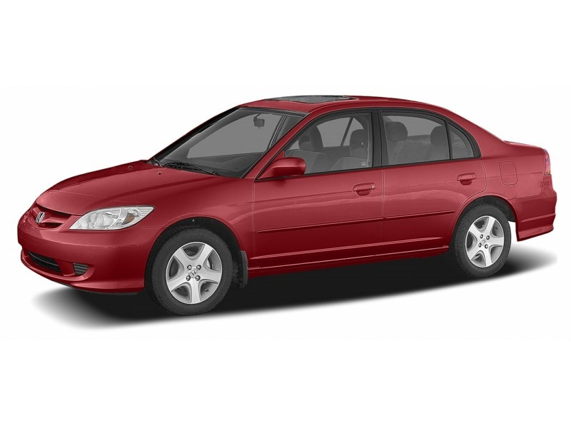 2005 Honda Civic SE Tango Red  Shot 2