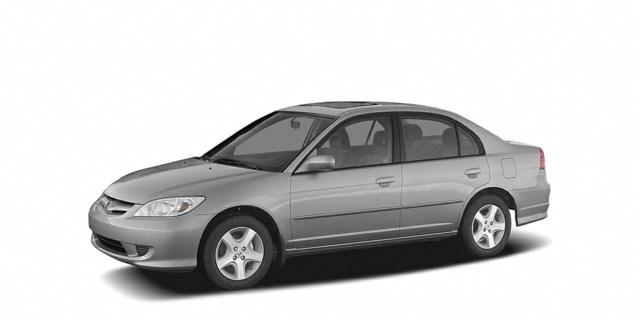 2005 Honda Civic Satin Silver Metallic [Silver]