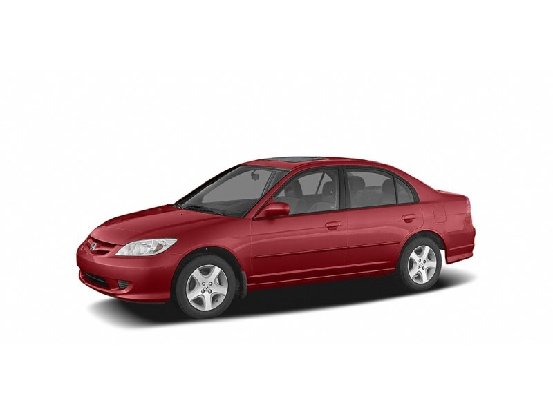 2005 Honda Civic SE Tango Red  Shot 1