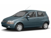 2007 Chevrolet Aveo 5 LT Misty Blue  Shot 2
