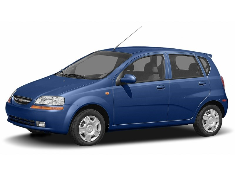 2007 Chevrolet Aveo 5 LT Sports Blue  Shot 4