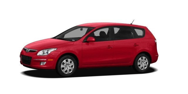 2009 Hyundai Elantra Touring Chilipepper Red [Red]