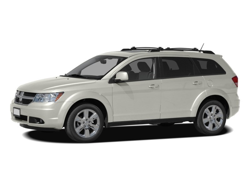 2010 Dodge Journey SXT **7 PASSENGER AUT0 AIR CRUISE** White Gold Clearcoat  Shot 3