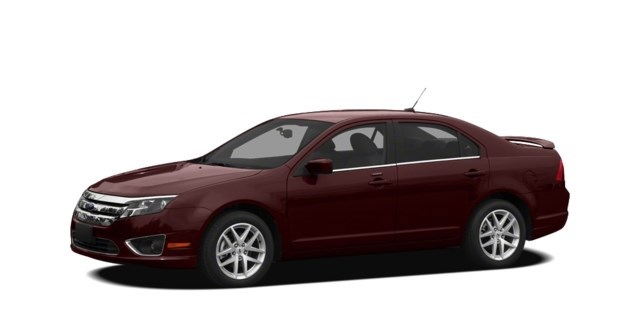 2011 Ford Fusion Bordeaux Reserve Metallic [Red]
