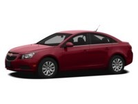 2012 Chevrolet Cruze LT Turbo Crystal Red Tintcoat  Shot 2
