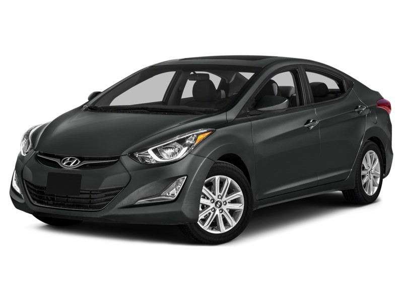 2014 Hyundai Elantra GL Harbour Grey Metallic  Shot 1