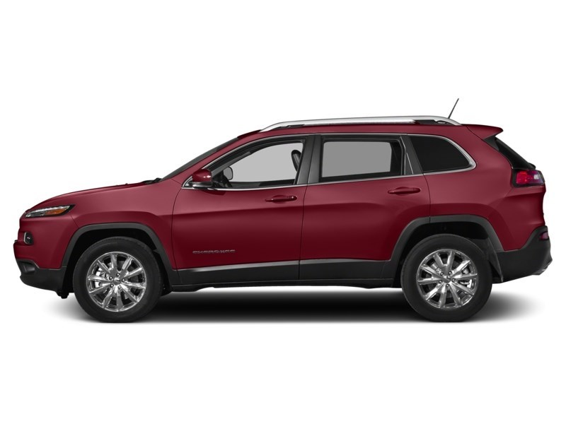 2016 Jeep Cherokee Limited Deep Cherry Red Crystal Pearl  Shot 3