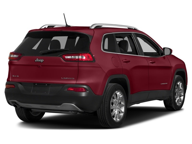 2016 Jeep Cherokee Limited Deep Cherry Red Crystal Pearl  Shot 2