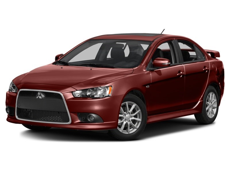 2015 Mitsubishi Lancer SE AWD ****ONLY 45435KM'S!!! WOW***** Rally Red  Shot 1
