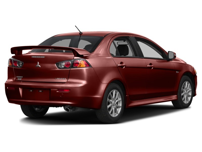 2015 Mitsubishi Lancer SE AWD ****ONLY 45435KM'S!!! WOW***** Rally Red  Shot 2
