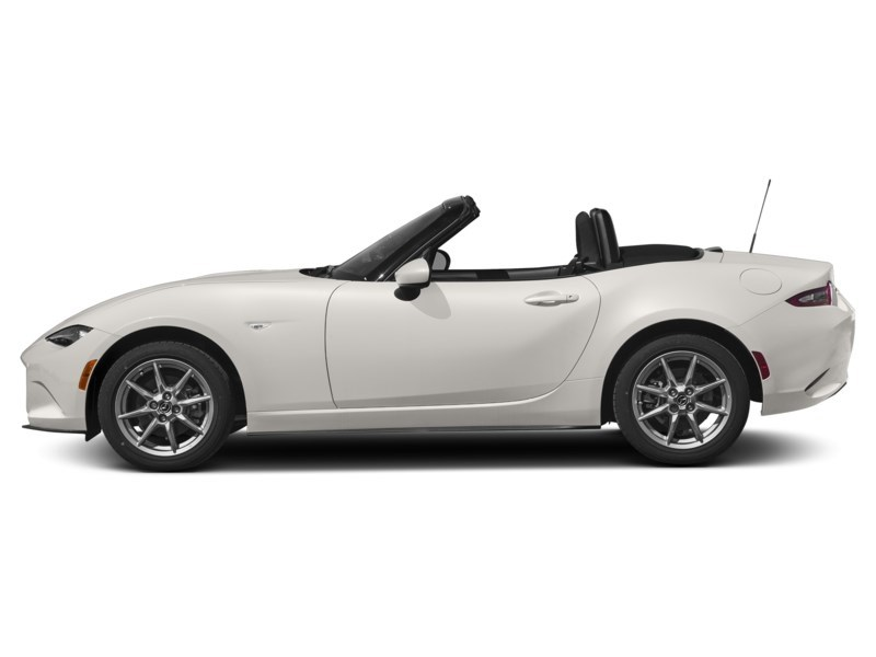 2016 Mazda MX 5 GX Crystal White Pearl Shot 3