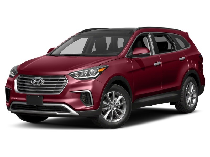 2018 Hyundai Santa Fe XL Luxury Regal Red Pearl  Shot 1