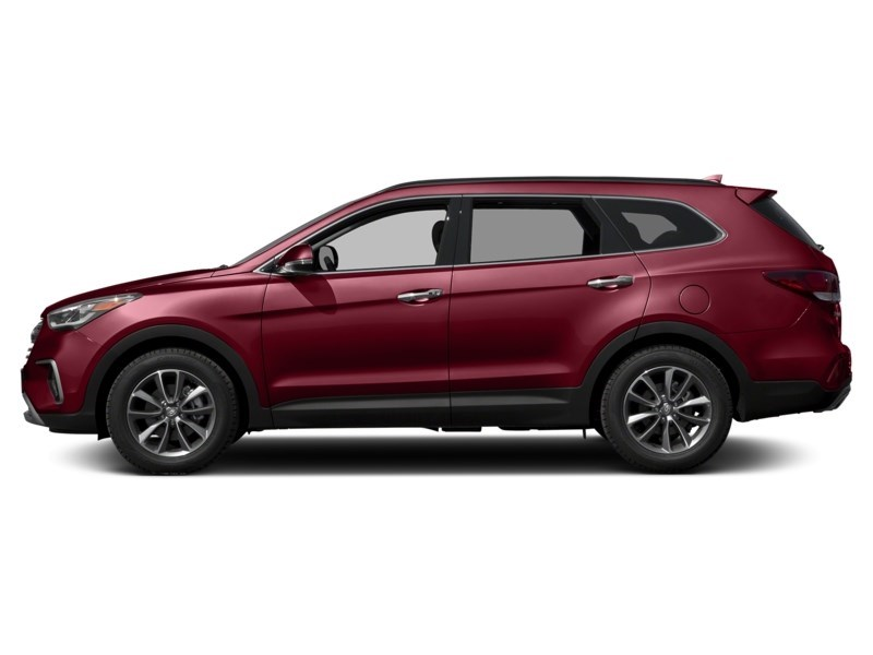 2018 Hyundai Santa Fe XL Luxury Regal Red Pearl  Shot 3