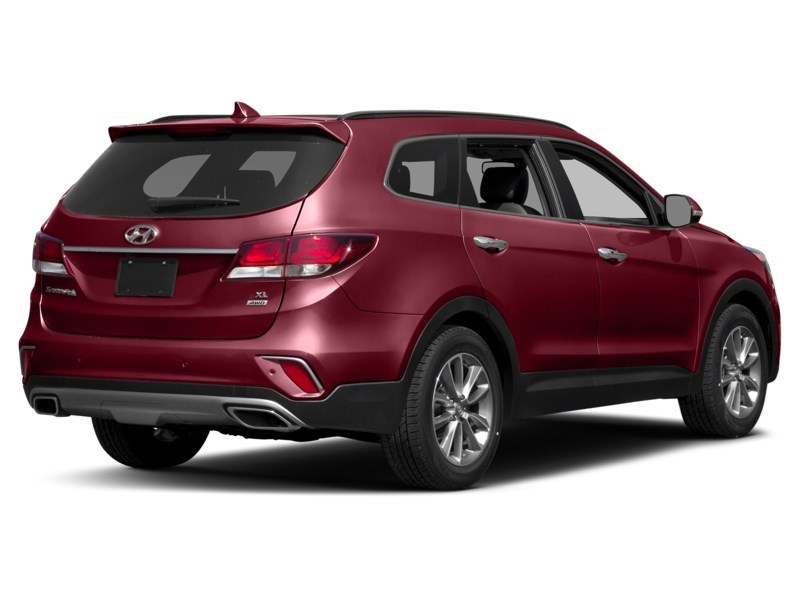 2018 Hyundai Santa Fe XL Luxury Regal Red Pearl  Shot 2