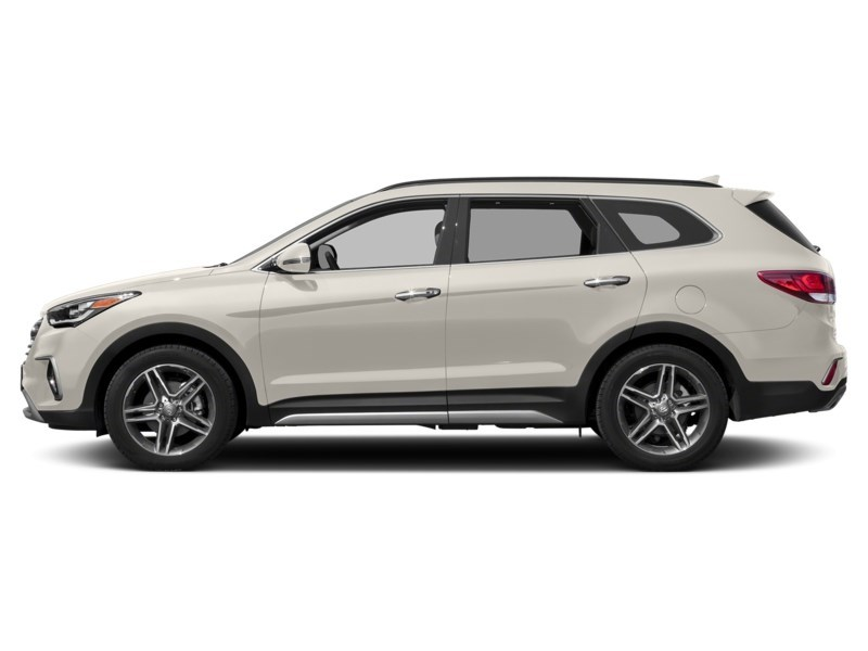 2018 Hyundai Santa Fe XL Limited Monaco White  Shot 3