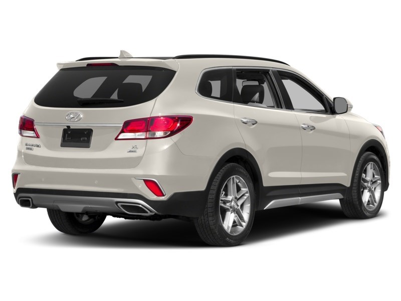 2018 Hyundai Santa Fe XL Limited Monaco White  Shot 2