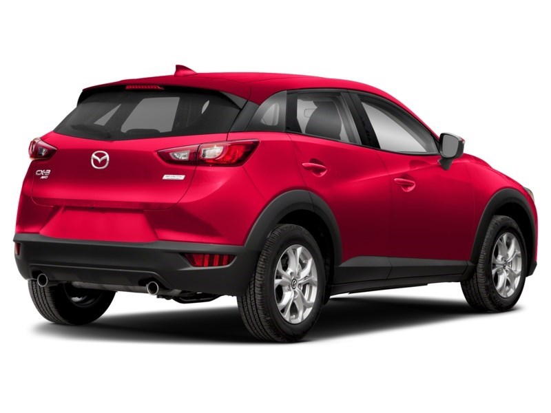 2018 Mazda CX-3 50th Anniversary Edition Soul Red Crystal Metallic  Shot 2