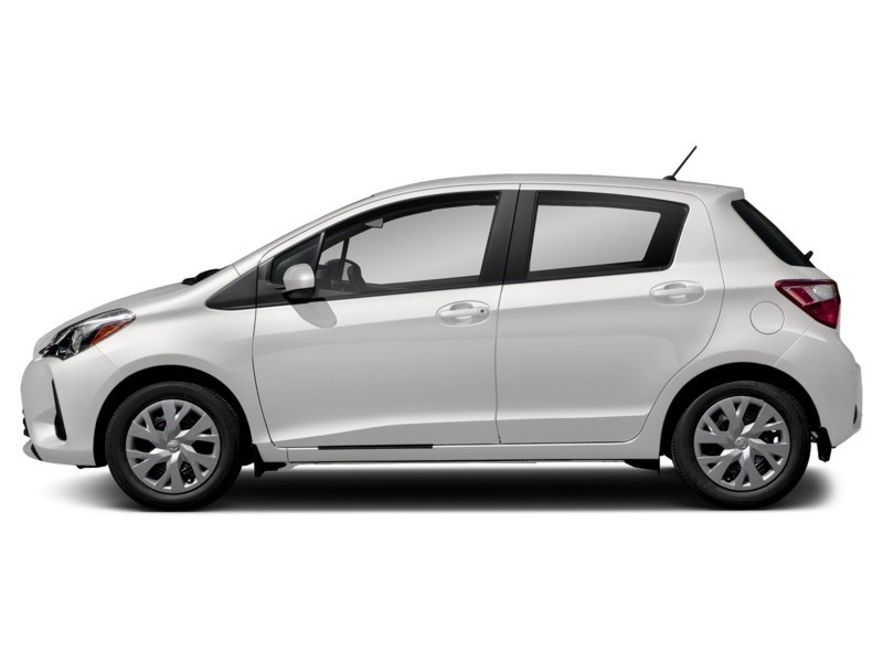 "2018 Toyota Yaris LE AUTOMATIC *LOWEST PRICE IN OTTAWA"" Alpine White  Shot 6"