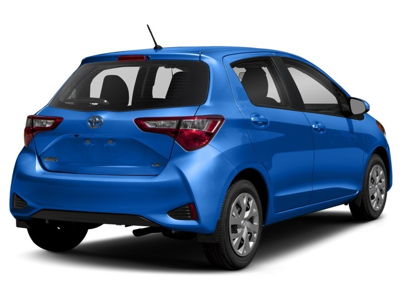 "2018 Toyota Yaris LE AUTOMATIC *LOWEST PRICE IN OTTAWA"" Blue Eclipse Metallic  Shot 17"