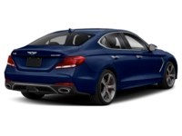 2021 Genesis G70 2.0T Elite Adriatic Blue  Shot 2