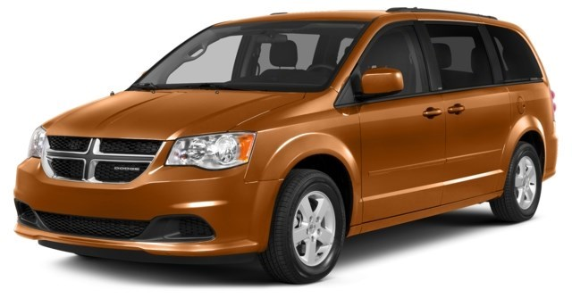 2012 Dodge Grand Caravan Mango Tango Pearlcoat [Orange]
