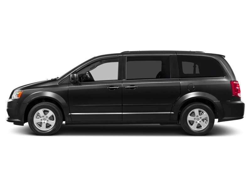 2012 Dodge Grand Caravan SE/SXT  - $45.56 /Wk Brilliant Black Crystal Pearlcoat  Shot 3