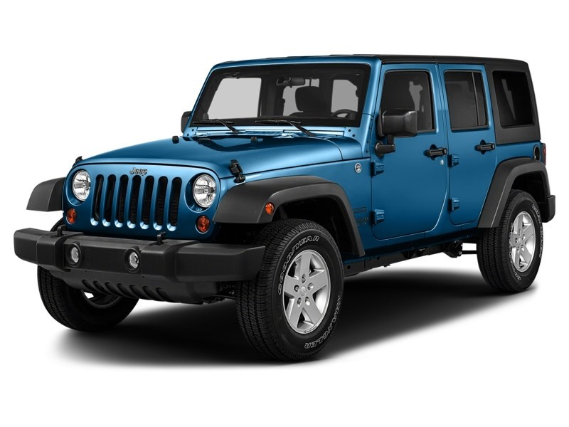 2015 Jeep Wrangler Unlimited Sport Hydro Blue Pearl  Shot 1