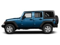 2015 Jeep Wrangler Unlimited Sport Hydro Blue Pearl  Shot 3