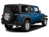 2015 Jeep Wrangler Unlimited Sport Hydro Blue Pearl  Shot 2
