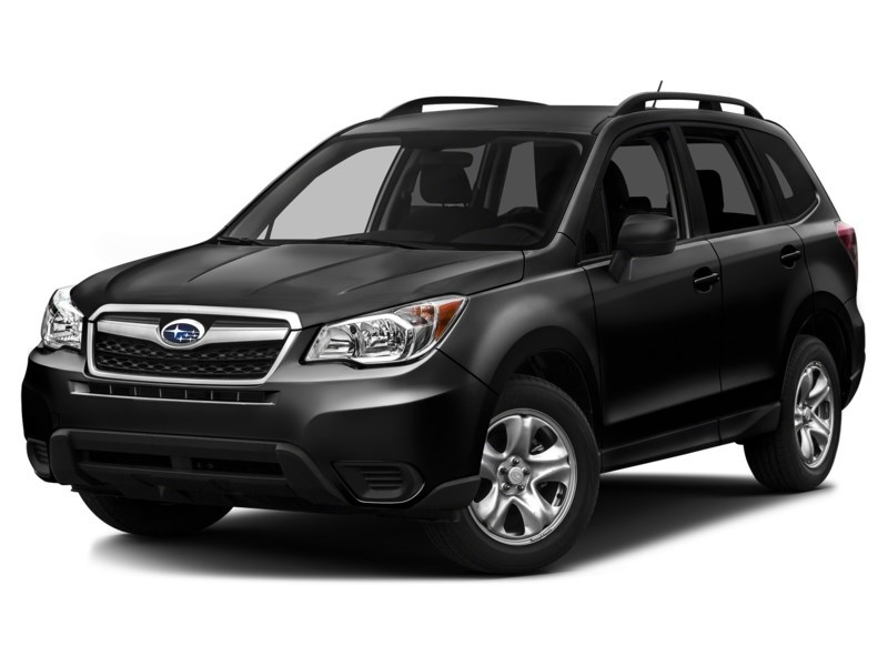 2014 Subaru Forester Forester l AWD l rearview camera l htd power seats Crystal Black Silica  Shot 1