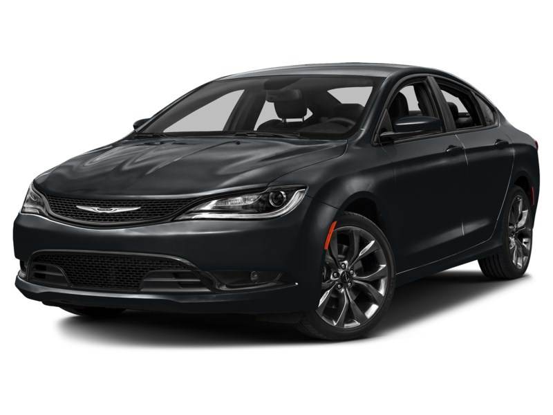 2016 Chrysler 200 S Maximum Steel Metallic  Shot 1