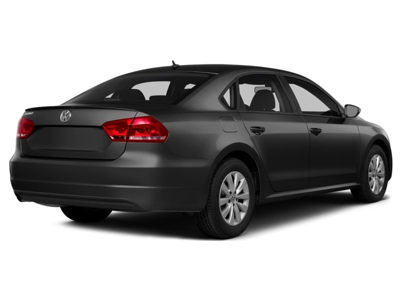 2015 Volkswagen Passat 1.8 TSI Trendline  - Heated Seats - $51.75 /Wk Black  Shot 2