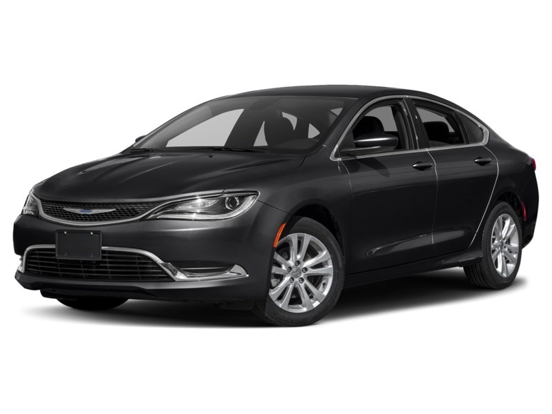 2016 Chrysler 200 Limited Gloss Black  Shot 1