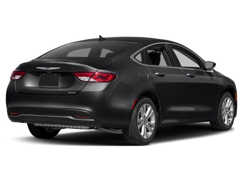 2016 Chrysler 200 Limited Gloss Black  Shot 2