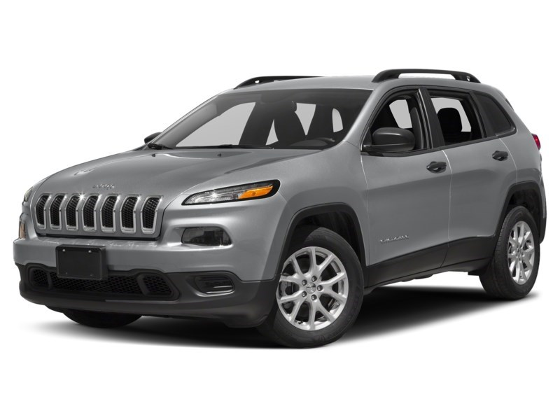 2016 Jeep Cherokee Sport Billet Silver Metallic  Shot 10