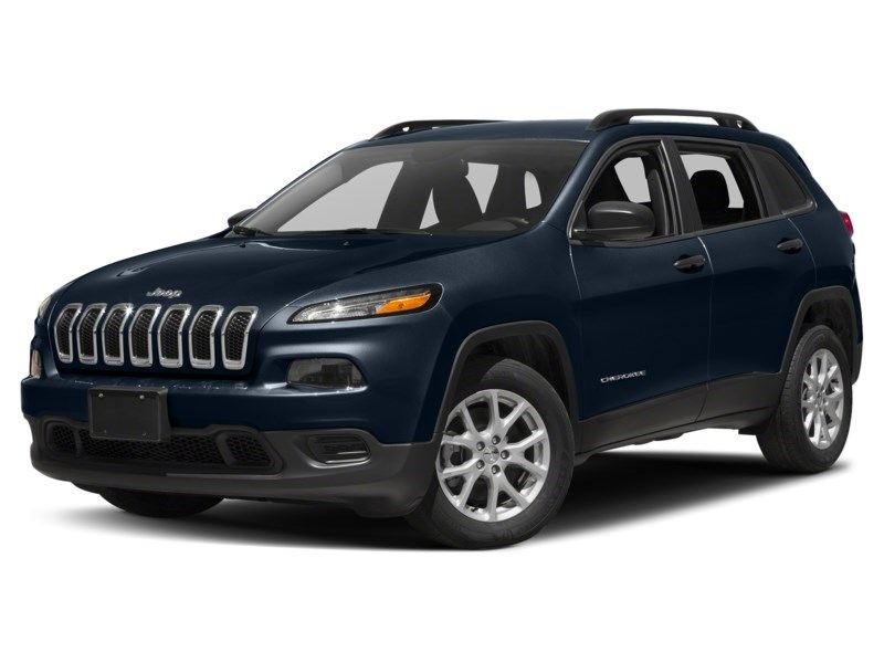 2016 Jeep Cherokee Sport True Blue Pearl  Shot 4