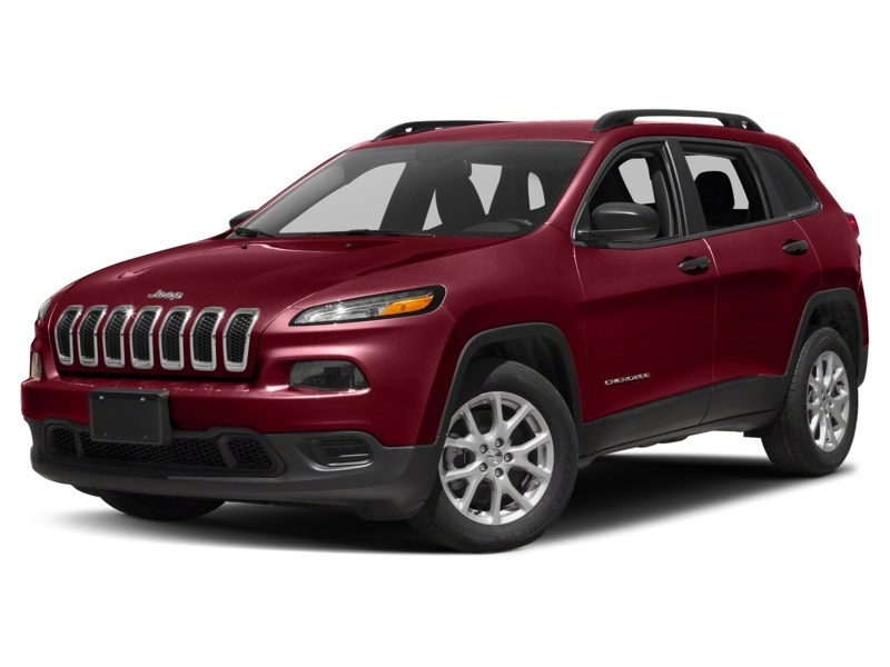 2016 Jeep Cherokee Sport Deep Cherry Red Crystal Pearl  Shot 16