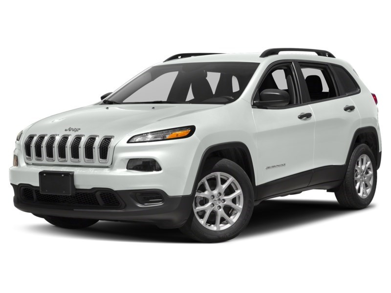2016 Jeep Cherokee Sport Bright White  Shot 1