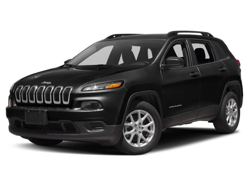 2016 Jeep Cherokee Sport Brilliant Black Crystal Pearl  Shot 1