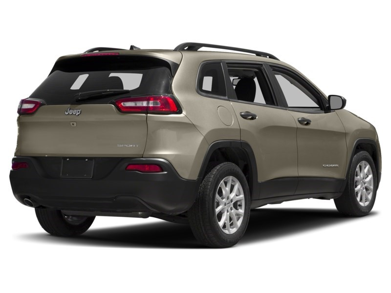 2016 Jeep Cherokee Sport Light Brownstone Pearl  Shot 14