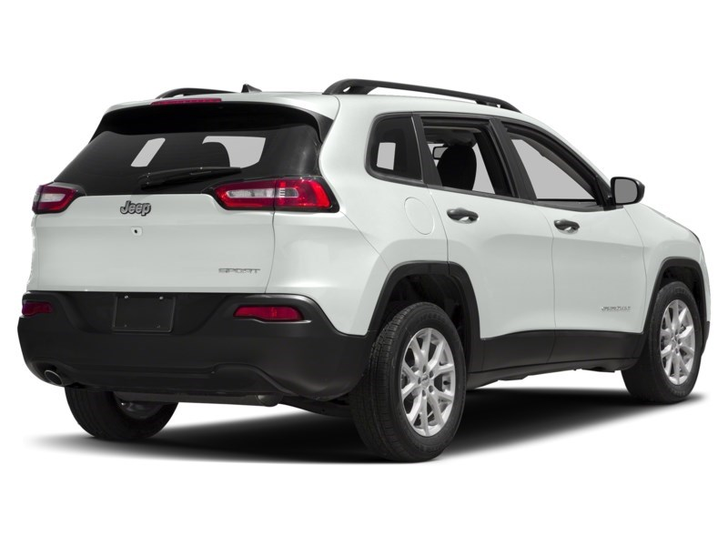 2016 Jeep Cherokee Sport Bright White  Shot 2